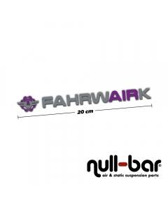 FAHRWairK sticker