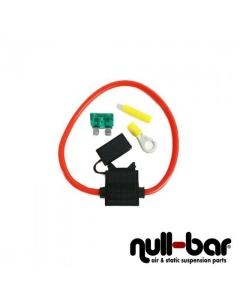 Sicherungshalter 6mm² 30A inkl. Befestigungsmaterial und Sicherung