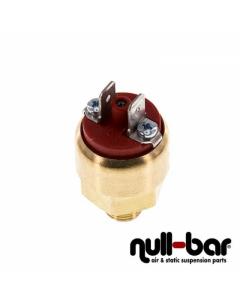 Druckschalter 1-10 bar (NO / rot)