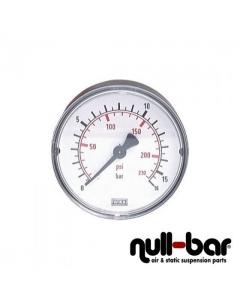 Druckanzeige 0-16bar 63mm