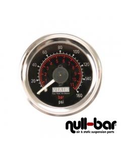 Viair - Analoge Doppeldruckanzeige 0-11 Bar